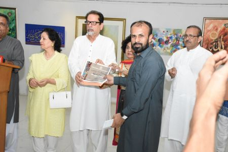 Annual Calligraphy Exhibition 2018 At Ahmed Pervez Art Gallery, Arts Council Karachi (12)