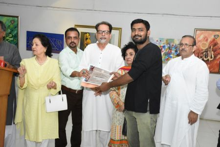 Annual Calligraphy Exhibition 2018 At Ahmed Pervez Art Gallery, Arts Council Karachi (13)