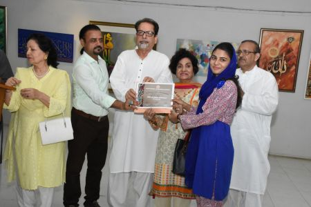 Annual Calligraphy Exhibition 2018 At Ahmed Pervez Art Gallery, Arts Council Karachi (15)