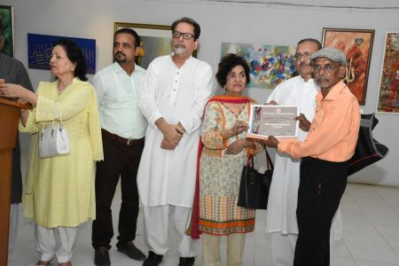 Annual Calligraphy Exhibition 2018 At Ahmed Pervez Art Gallery, Arts Council Karachi (16)