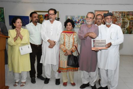 Annual Calligraphy Exhibition 2018 At Ahmed Pervez Art Gallery, Arts Council Karachi (17)
