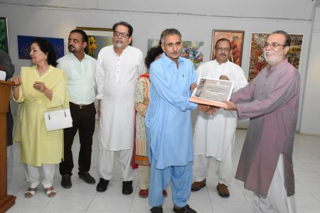 Annual Calligraphy Exhibition 2018 At Ahmed Pervez Art Gallery, Arts Council Karachi (18)