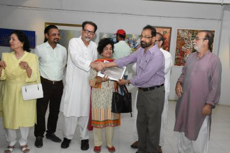 Annual Calligraphy Exhibition 2018 At Ahmed Pervez Art Gallery, Arts Council Karachi (19)