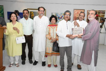 Annual Calligraphy Exhibition 2018 At Ahmed Pervez Art Gallery, Arts Council Karachi (20)