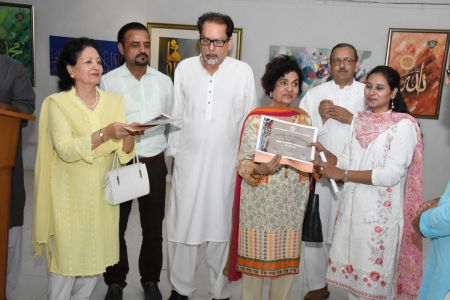 Annual Calligraphy Exhibition 2018 At Ahmed Pervez Art Gallery, Arts Council Karachi (21)