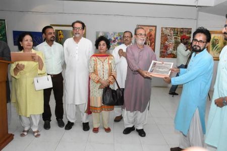 Annual Calligraphy Exhibition 2018 At Ahmed Pervez Art Gallery, Arts Council Karachi (22)