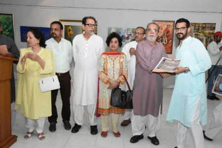Annual Calligraphy Exhibition 2018 At Ahmed Pervez Art Gallery, Arts Council Karachi (23)