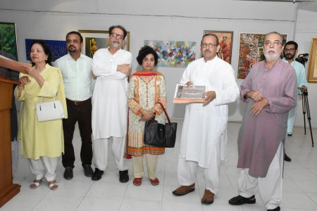 Annual Calligraphy Exhibition 2018 At Ahmed Pervez Art Gallery, Arts Council Karachi (24)