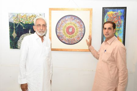 Annual Calligraphy Exhibition 2018 At Ahmed Pervez Art Gallery, Arts Council Karachi (25)
