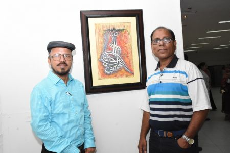 Annual Calligraphy Exhibition 2018 At Ahmed Pervez Art Gallery, Arts Council Karachi (26)