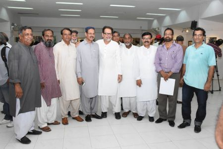 Annual Calligraphy Exhibition 2018 At Ahmed Pervez Art Gallery, Arts Council Karachi (28)