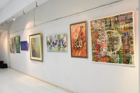 Annual Calligraphy Exhibition 2018 At Ahmed Pervez Art Gallery, Arts Council Karachi (32)