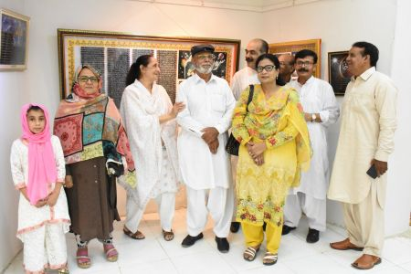 Annual Calligraphy Exhibition 2018 At Ahmed Pervez Art Gallery, Arts Council Karachi (33)