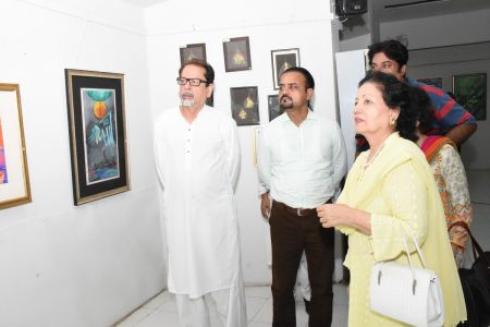Annual Calligraphy Exhibition 2018 At Ahmed Pervez Art Gallery, Arts Council Karachi (42)