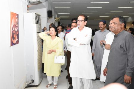 Annual Calligraphy Exhibition 2018 At Ahmed Pervez Art Gallery, Arts Council Karachi (44)