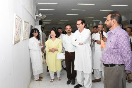 Annual Calligraphy Exhibition 2018 At Ahmed Pervez Art Gallery, Arts Council Karachi (45)