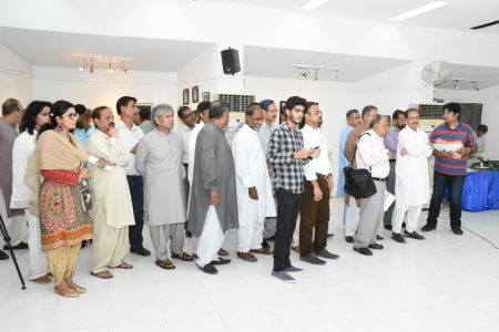 Annual Calligraphy Exhibition 2018 At Ahmed Pervez Art Gallery, Arts Council Karachi (47)