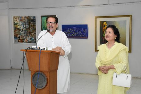 Annual Calligraphy Exhibition 2018 At Ahmed Pervez Art Gallery, Arts Council Karachi (48)