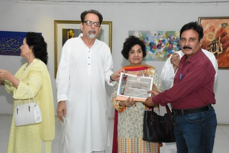 Annual Calligraphy Exhibition 2018 At Ahmed Pervez Art Gallery, Arts Council Karachi (7)