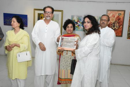 Annual Calligraphy Exhibition 2018 At Ahmed Pervez Art Gallery, Arts Council Karachi (8)