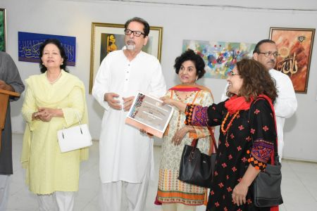 Annual Calligraphy Exhibition 2018 At Ahmed Pervez Art Gallery, Arts Council Karachi (9)
