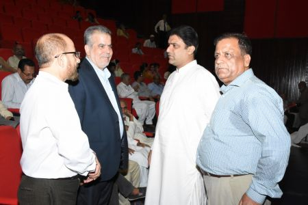 Arts Council Organized A Condolence Gathering For Muzafar Ahmed Hashmi (26)