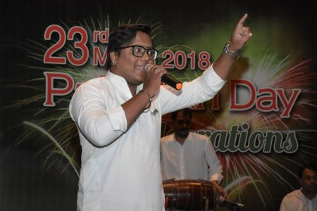 Ateeq Sawan During 23rd March Celebrations At Arts Council Of Pakistan Karachi (22)