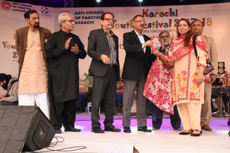 Award Distribution District East, Karachi Youth Festival 2017-18 (13)
