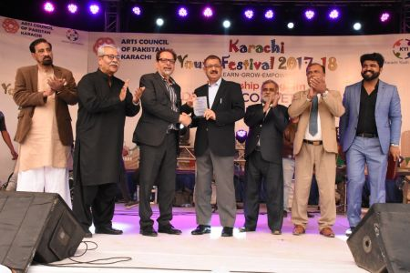 Award Distribution District East, Karachi Youth Festival 2017-18 (21)