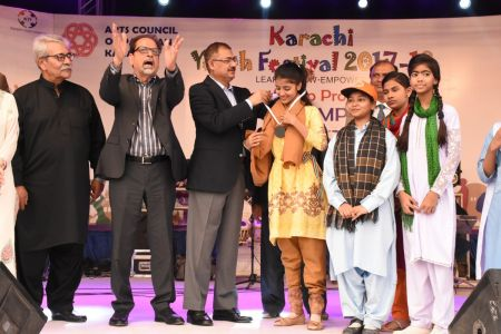 Award Distribution District East, Karachi Youth Festival 2017-18 (23)