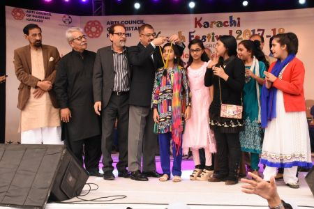 Award Distribution District East, Karachi Youth Festival 2017-18 (24)