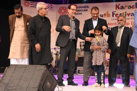 Award Distribution District East, Karachi Youth Festival 2017-18 (26)