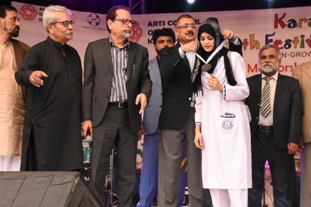 Award Distribution District East, Karachi Youth Festival 2017-18 (29)