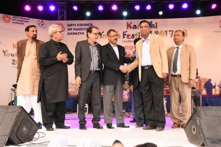 Award Distribution District East, Karachi Youth Festival 2017-18 (3)