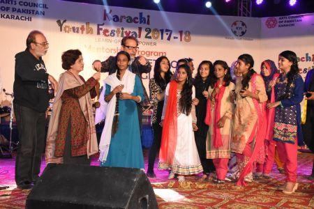 Award Distribution Distt Korangi Youth Festival 2017-18 (13)