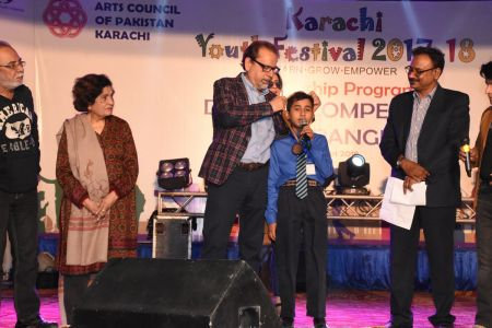 Award Distribution Distt Korangi Youth Festival 2017-18 (22)