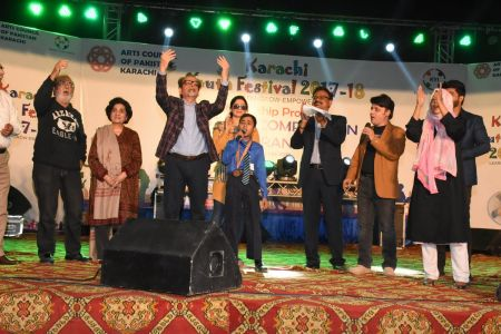 Award Distribution Distt Korangi Youth Festival 2017-18 (23)