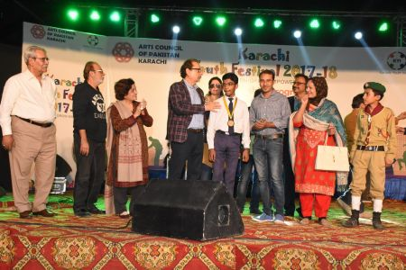 Award Distribution Distt Korangi Youth Festival 2017-18 (26)
