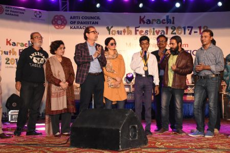 Award Distribution Distt Korangi Youth Festival 2017-18 (27)