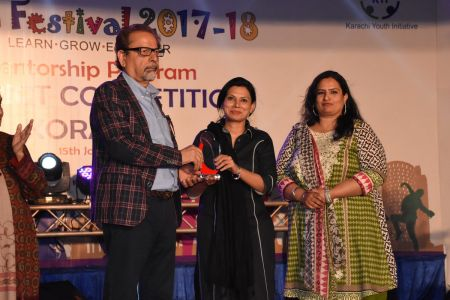 Award Distribution Distt Korangi Youth Festival 2017-18 (8)
