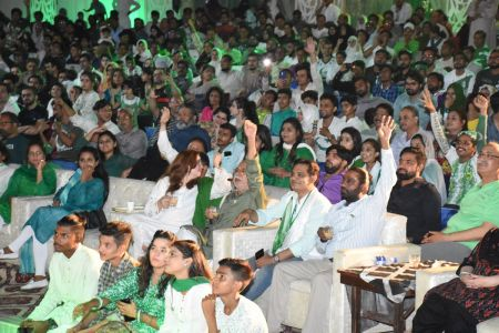 Azadi Festival 2018, 14th August Celebrations At Arts Council Of Pakistan Karachi (11)