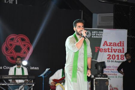 Azadi Festival 2018, 14th August Celebrations At Arts Council Of Pakistan Karachi (12)