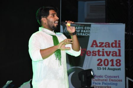 Azadi Festival 2018, 14th August Celebrations At Arts Council Of Pakistan Karachi (16)