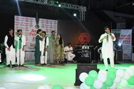 Azadi Festival 2018, 14th August Celebrations At Arts Council Of Pakistan Karachi (17)