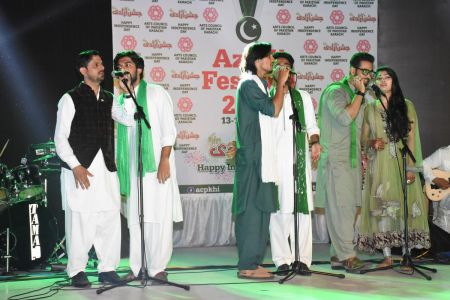Azadi Festival 2018, 14th August Celebrations At Arts Council Of Pakistan Karachi (18)