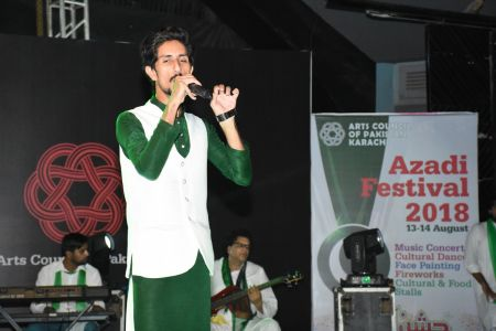 Azadi Festival 2018, 14th August Celebrations At Arts Council Of Pakistan Karachi (19)