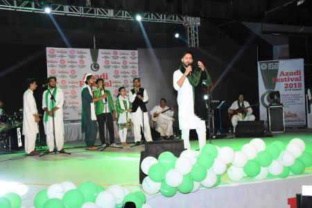 Azadi Festival 2018, 14th August Celebrations At Arts Council Of Pakistan Karachi (21)