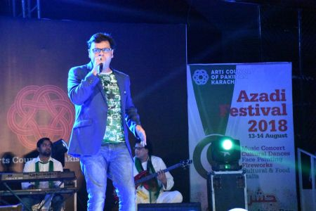 Azadi Festival 2018, 14th August Celebrations At Arts Council Of Pakistan Karachi (23)