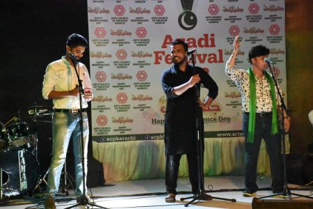 Azadi Festival 2018, 14th August Celebrations At Arts Council Of Pakistan Karachi (24)