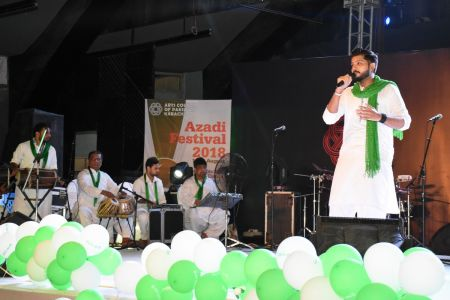 Azadi Festival 2018, 14th August Celebrations At Arts Council Of Pakistan Karachi (34)